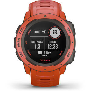 SmartWatch Garmin INSTINCT 010-02064-02 Flame Red
