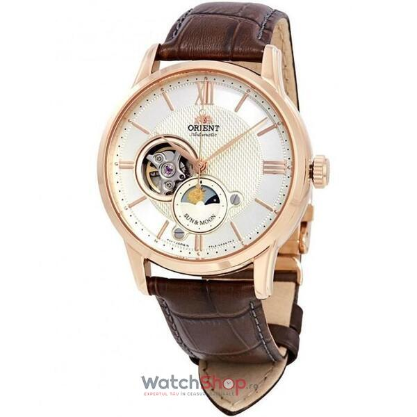 Ceas Orient Sun and Moon RA-AS0003S10B Open Heart Automatic