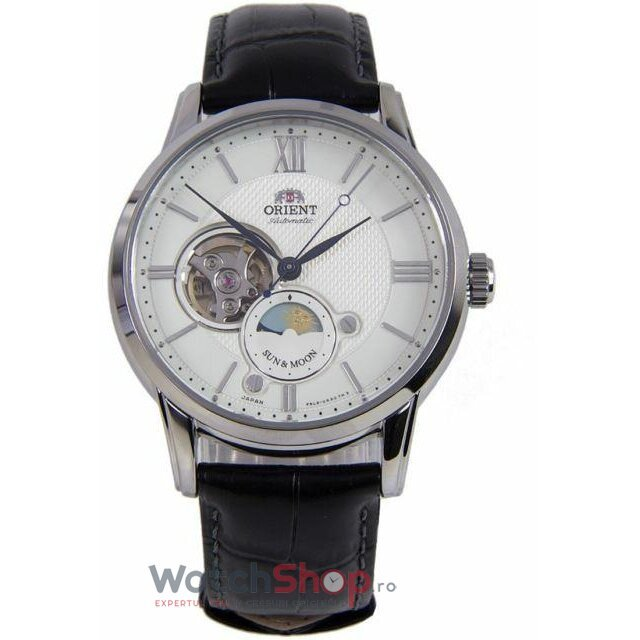 Ceas Orient Sun and Moon RA-AS0005S Open Heart Automatic de la Orient
