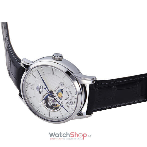 Ceas Orient Sun and Moon RA-AS0005S Open Heart Automatic