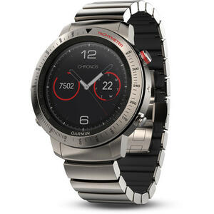 SmartWatch Garmin Fenix Chronos 010-01957-01 Titanium Hybrid Band Set