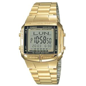 Ceas Casio DATA BANK DB-360G-9A Baterie 10 ani