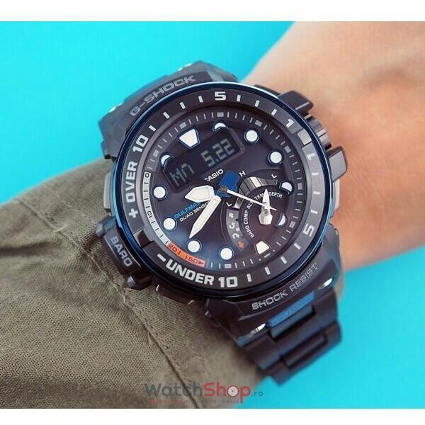 Ceas Casio G-Shock GWN-Q1000MC-1A2ER Gulfmaster MultiBand 6 Solar Smart Access