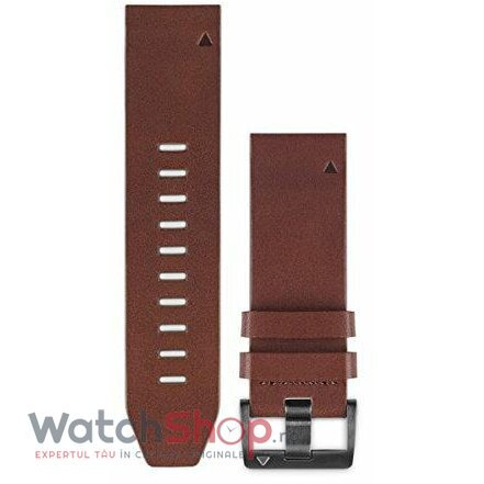 Curea (bratara) ceas Garmin QuickFit Brown Leather Band 010-12496-05 de la Garmin