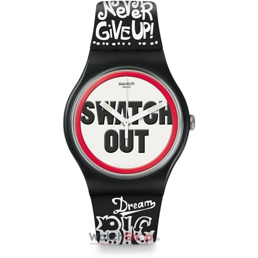 Ceas Swatch Listen to me SUOB160 SWATCH OUT de la Swatch