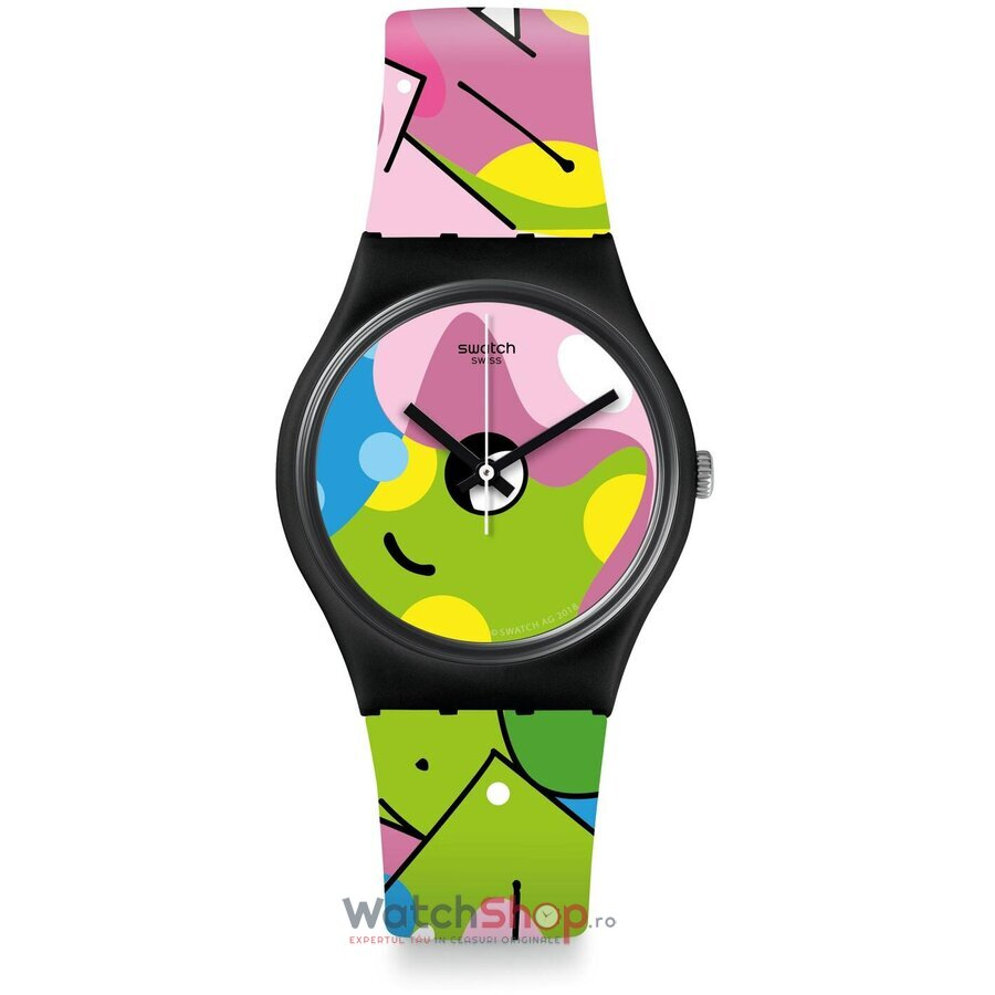Ceas Swatch Listen to me GB317 IMAGE OF GRAFFITI