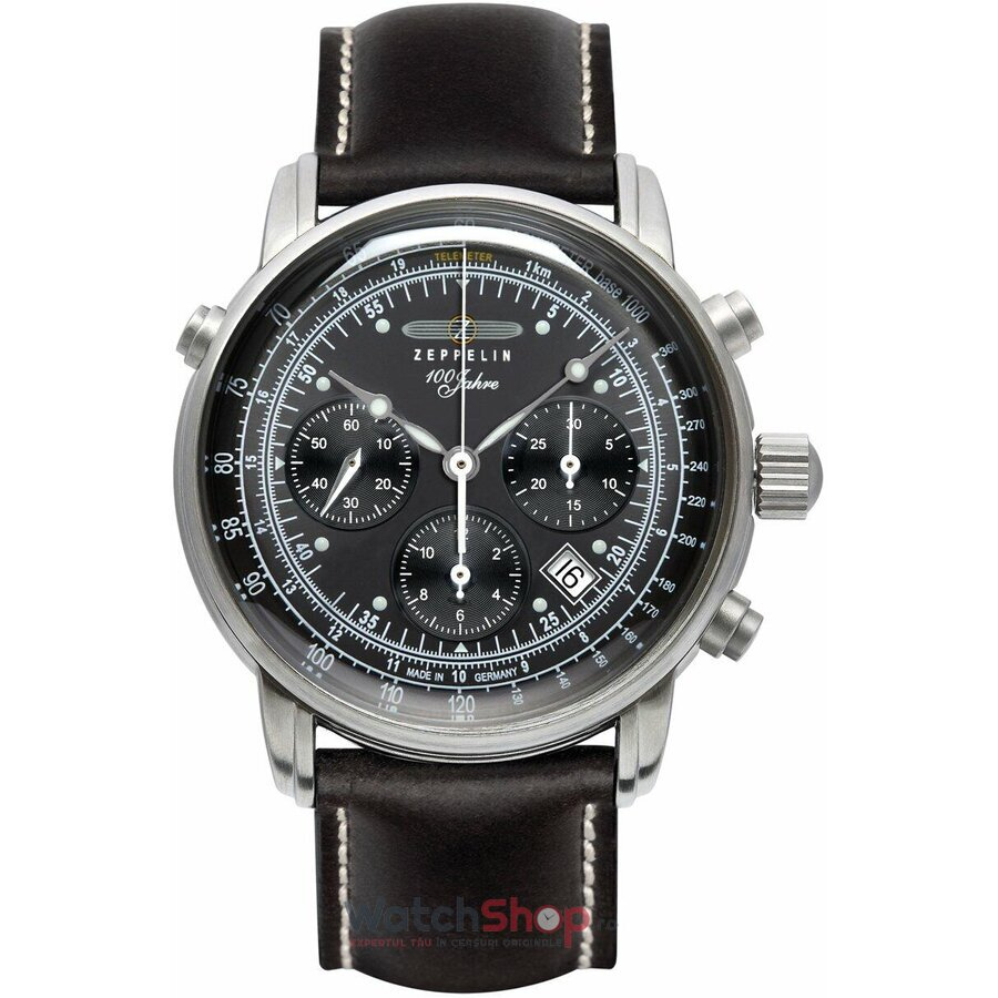 Ceas Zeppelin 100 Years 7618-2 Cronograf Automatic