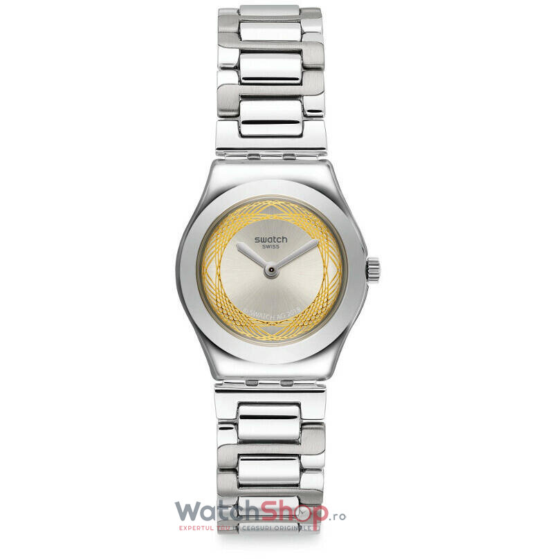 Ceas Swatch Irony YSS328G Golden Ring
