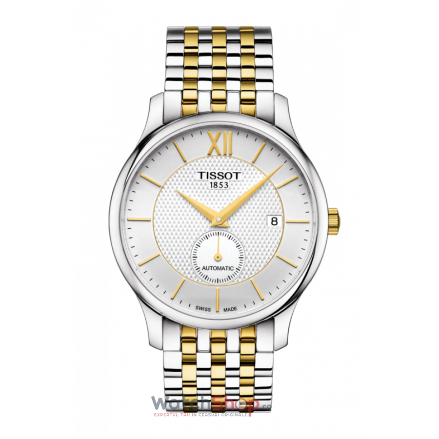 Poza Ceas Tissot T-Classic Tradition T063.428.22.038.00 Small Seconds Automatic