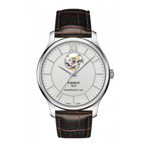 Ceas Tissot T-Classic Open Heart T063.907.16.038.00 Tradition Powermatic 80 Automatic