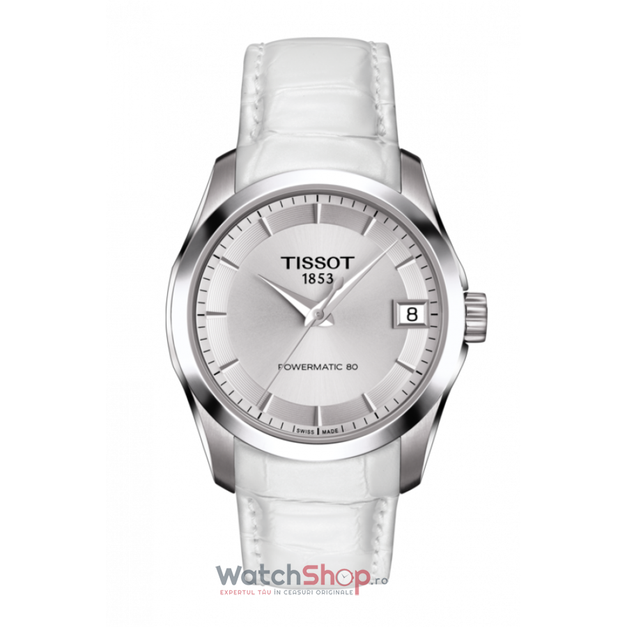 Ceas Tissot T-Classic Couturier T035.207.16.031.00 Powermatic 80 Automatic Lady