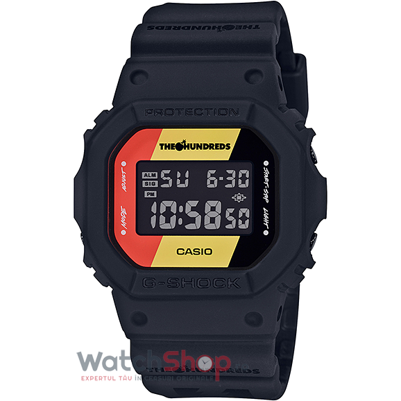 Ceas Casio G-Shock DW-5600HDR-1ER The Hundreds Limited Edition de la Casio