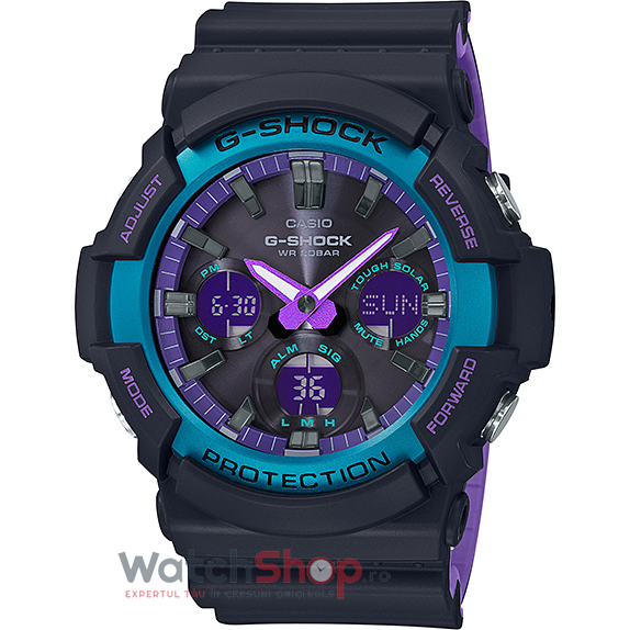 Ceas Casio G-Shock GAS-100BL-1ADR de la Casio