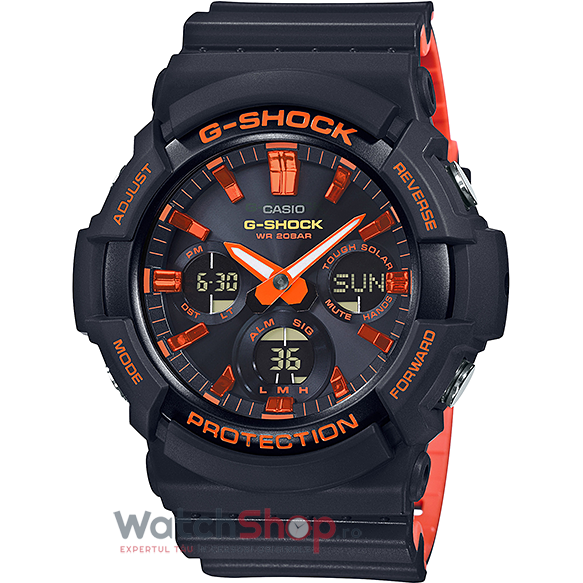 Ceas Casio G-Shock GAS-100BR-1ADR de la Casio