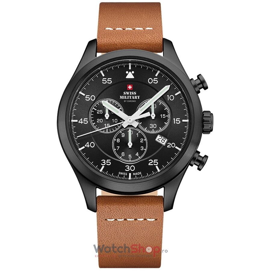 Ceas Swiss Military by Chrono SM34076.08 Cronograf de la Swiss Military