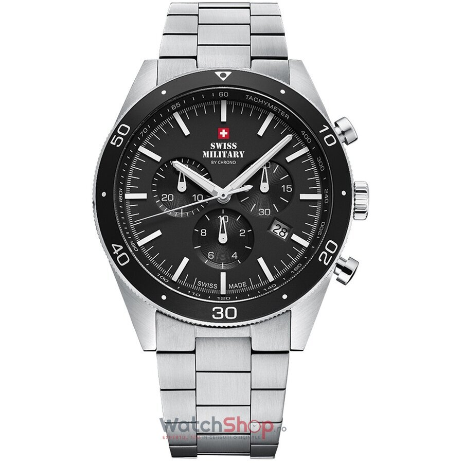 Ceas Swiss Military by Chrono SM34079.01 Cronograf de la Swiss Military