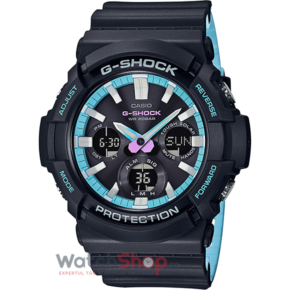 Ceas Casio G-Shock GAS-100PC-1ADR de la Casio