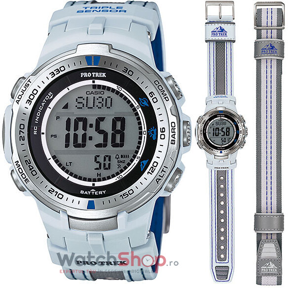 Ceas Casio Pro Trek PRW-3000G-7DR Tough Solar de la Casio