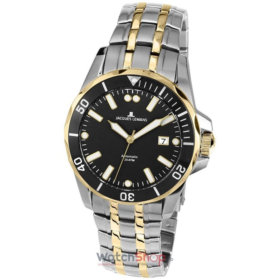 Ceas Jacques Lemans Liverpool Diver 1-1910D Automatic de la Jacques Lemans