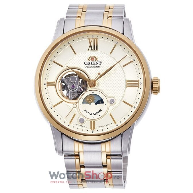 Ceas Orient Sun and Moon RA-AS0001S00B Automatic de la Orient