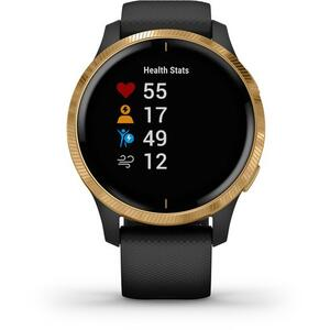 SmartWatch Garmin Venu 010-02173-34 Amoled Black with Gold Hardware