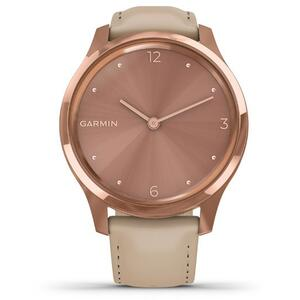 SmartWatch Garmin vi­vomove Luxe 010-02241-21 18K Rose Gold Hardware