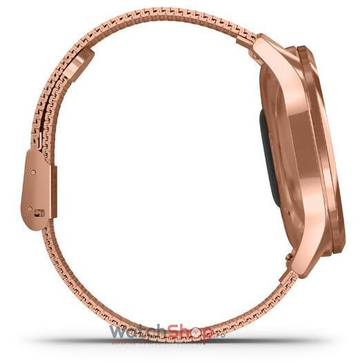 SmartWatch Garmin vi­vomove Luxe 010-02241-24 18K Rose Gold Hardware