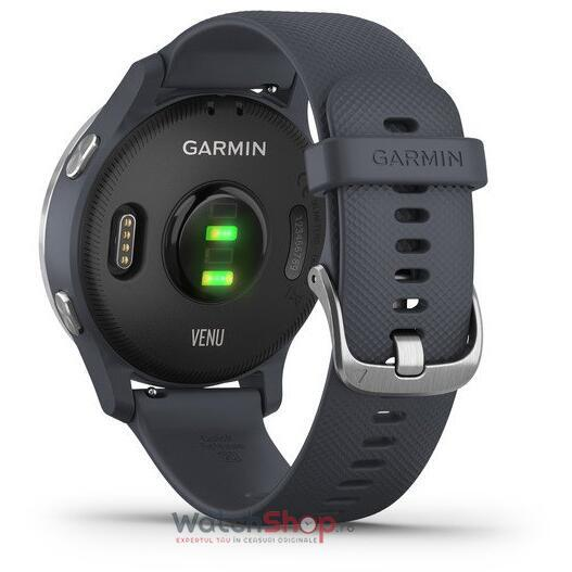 SmartWatch Garmin Venu 010-02173-04 Granite Blue with Silver Hardware