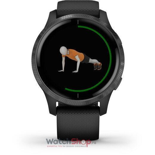 SmartWatch Garmin Venu 010-02173-14 Black with Slate Hardware