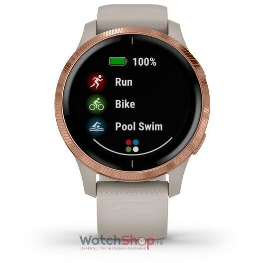 SmartWatch Garmin Venu 010-02173-24 Light Sand with Rose Gold Hardware