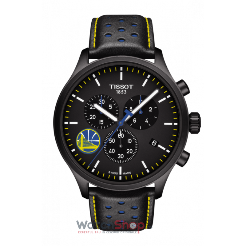 Ceas Tissot T-Sport T116.617.36.051.02 Chrono XL NBA Teams Special Golden State Warriors Edition de la Tissot