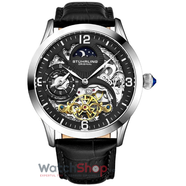 Ceas Stuhrling Legacy Special Reserve 3921.1 Skeleton Automatic