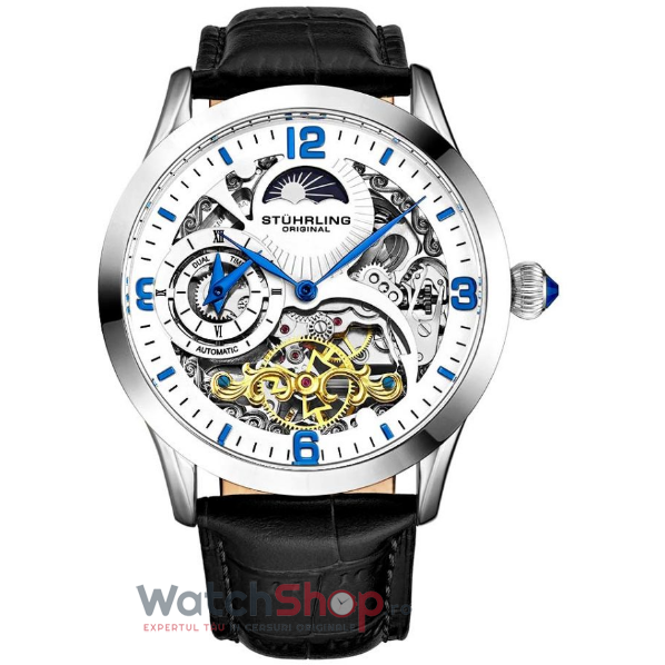 Ceas Stuhrling Legacy Special Reserve 3921.2 Skeleton Automatic