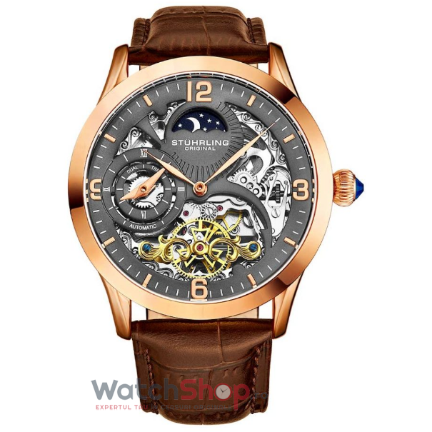 Ceas Stuhrling Legacy Special Reserve 3921.4 Skeleton Automatic