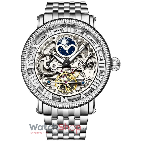 Ceas Stuhrling Legacy Special Reserve 3922.1 Skeleton Automatic