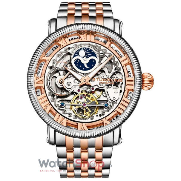 Ceas Stuhrling Legacy Special Reserve 3922.3 Skeleton Automatic