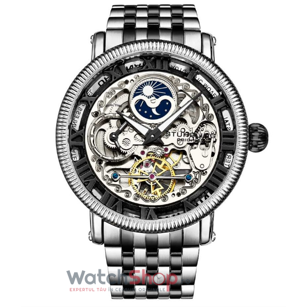 Ceas Stuhrling Legacy Special Reserve 3922.4 Skeleton Automatic