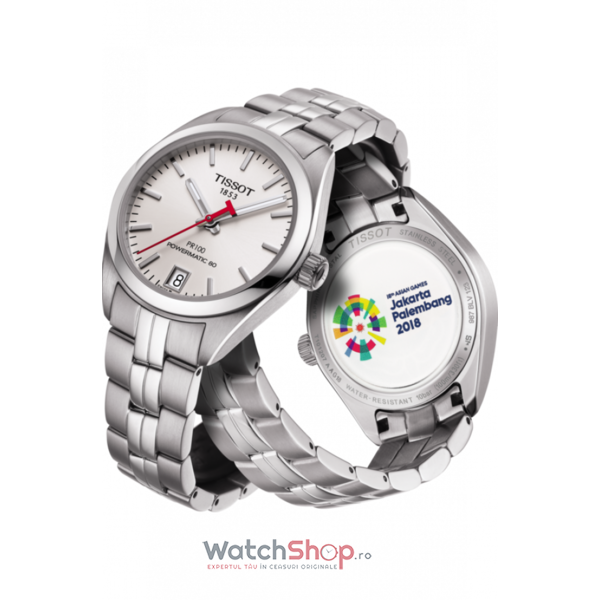 Ceas Tissot Special Collection PR100 T101.207.11.011.00 Powermatic 80 18th Asian Games Edition