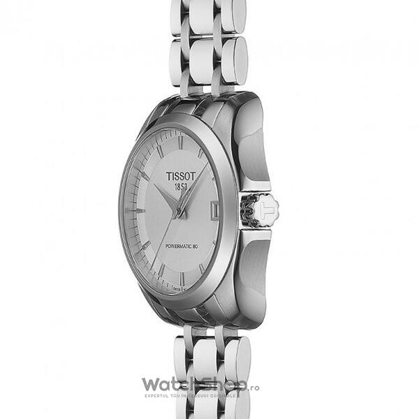 Ceas Tissot T-Classic Couturier T035.207.11.031.00 Powermatic 80 Automatic Lady