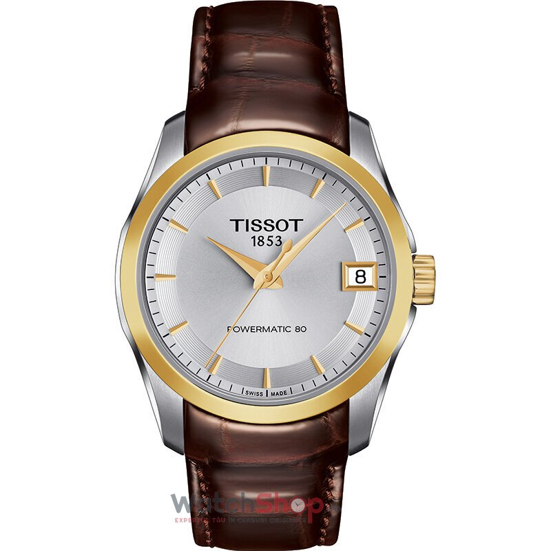 Ceas Tissot T-Classic Couturier T035.207.26.031.00 Powermatic 80 Automatic Lady