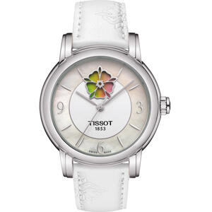 Ceas Tissot T-Lady T050.207.17.117.05 Lady Heart Flower Powermatic 80