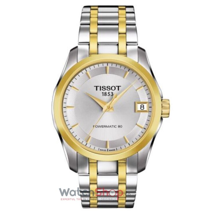 Ceas Tissot T-Classic Couturier T035.207.22.031.00 Powermatic 80 Automatic Lady