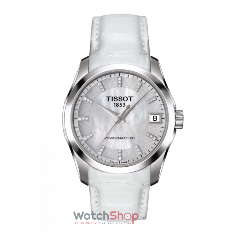 Ceas Tissot T-Classic Couturier T035.207.16.116.00 Powermatic 80 Automatic Lady
