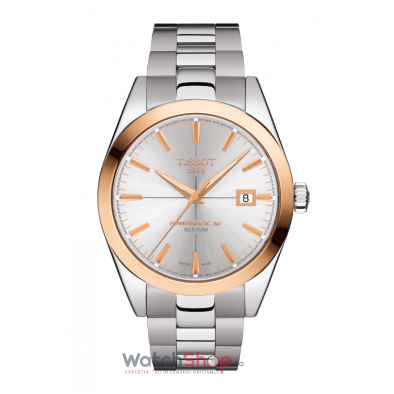 Ceas Tissot T-Gold T927.407.41.031.00 Powermatic 80 Silicium 18k Gold