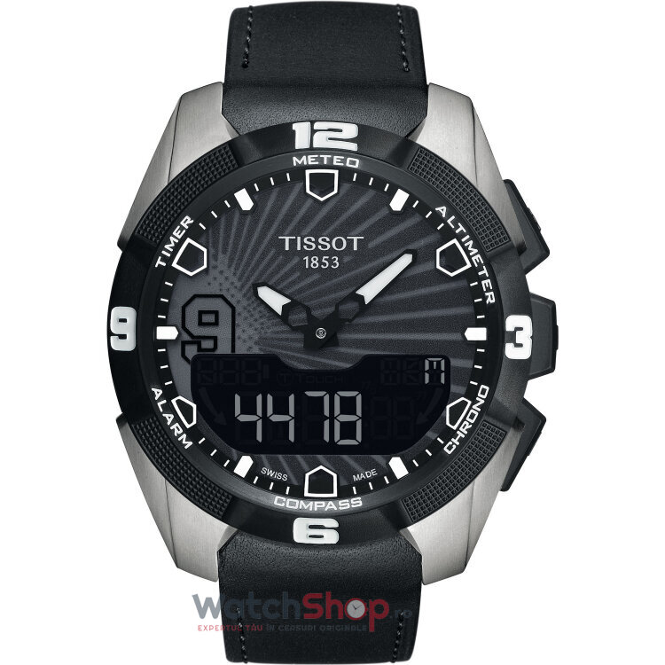 Ceas Tissot T-Touch Expert Solar T091.420.46.061.00 Tony Parker Special Edition