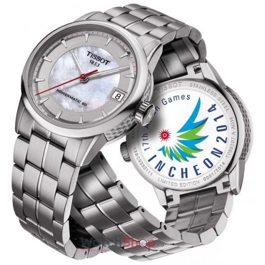 Ceas Tissot SPECIAL COLLECTIONS T086.207.11.111.01 Luxury Asian Games 2014 Collection Lady