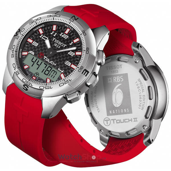 Ceas Tissot T-TOUCH T047.420.47.207.03 II RBS 6 Nations 2014