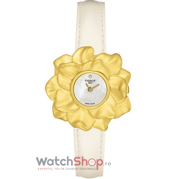Ceas Tissot T-GOLD T71.3.147.76 Water Lily 18k Gold