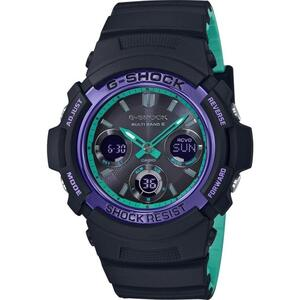 Ceas Casio G-SHOCK AWG-M100SBL-1AER MultiBand 6 Tough Solar