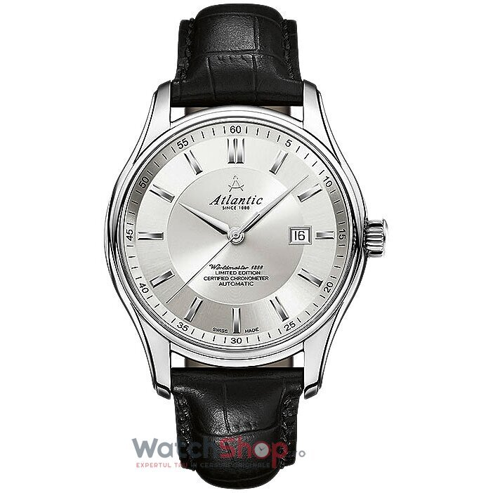 Ceas Atlantic WORLDMASTER 1888 52758.41.21S Lusso COSC de la Atlantic
